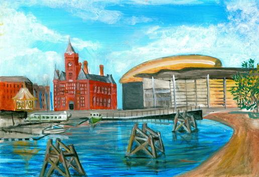 Morning Cardiff Bay!