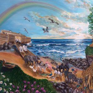 Painting of Noah's Arc