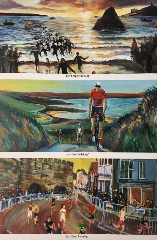 Triathlon Triptych 3