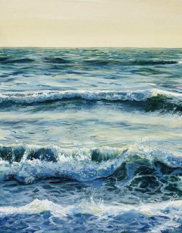 Spring Morning Waves